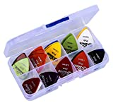 Astropick - Guitar picks - Box of 40 - Mix of Sizes 0.58/0.71/0.81/0.96/1.20/1.50
