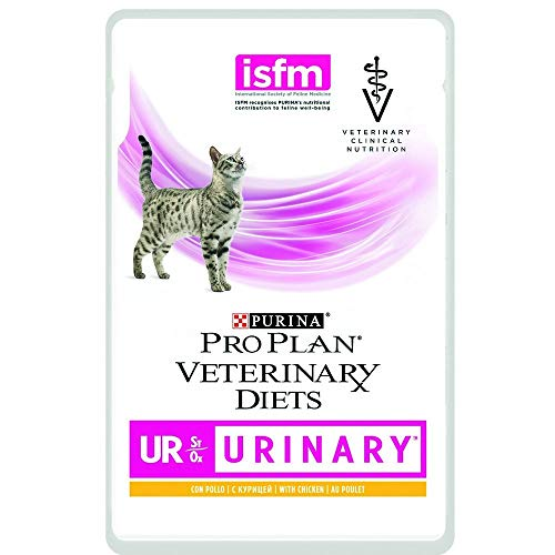 Purina Diet Cat Wet Urinary Pollo GR. 85 X 10 Alimenti Umidi per Gatti, Multicolore, Unica, 850 unità