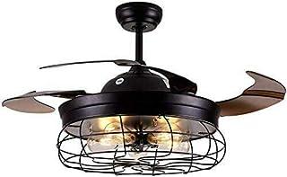 Ventilador de techo con iluminación y mando a distancia (42