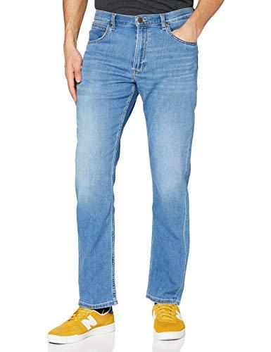 Lee Mens Brooklyn Straight Jeans, Light RAY, 40/30