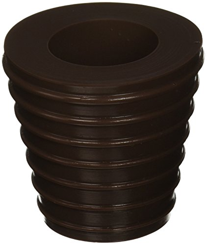 Patio Umbrella Cone (Brown) Fits 1.5' Umbrella. Weather Resistant Polyurethane. The Original Made in the USA.