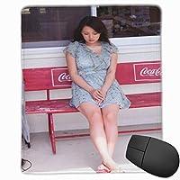 【2021新款】マウスパッド篠崎愛(しのざきあい 、Shinozaki Ai) マウスパッド ゲーミング 光学マウス対応 パソコン 周辺機器 超大型 防水 洗える 滑り止め 高級感 耐久性が良い 18x22cm