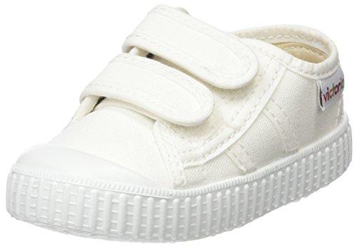 Victoria Basket Lona Dos Velcros, Zapatillas Unisex bebé, Blanco (Blanco 20),...