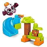 Mega Bloks Peek a Blocks Panda Slide, Multi
