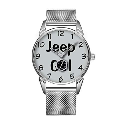 Mode wasserdicht Uhr minimalistischen Persönlichkeit Muster Uhr -486. Jeep Girl-Impress