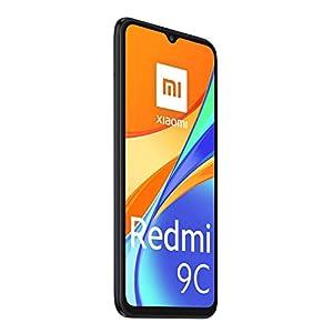 "Xiaomi Redmi 9C Smartphone 3GB 64GB 6.53"" HD+ Dot Drop display 5000mAh (typ) Desbloqueo facial con IA 13 MP AI Triple Cámara [versión en español] gris"