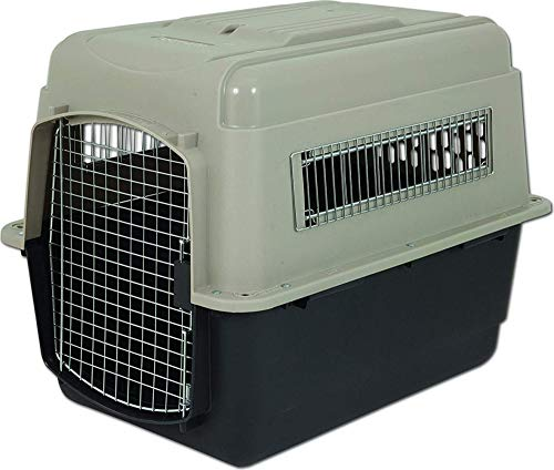 Petmate Ultra Vari Kennel 32quot 3050LB Taupe/Black 21552