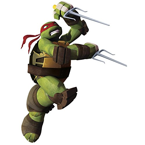 Price comparison product image RoomMates Repositionable Children's Wall Stickers - Teenage Mutant Ninja Turtles Raphael