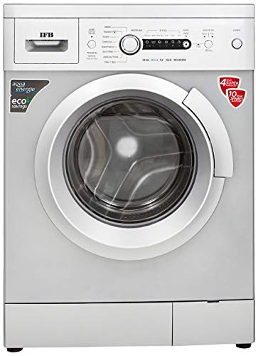 IFB 6 kg Fully-Automatic Front Loading Washing Machine (Diva Aqua SX, Silver, Inbuilt Heater, Aqua...