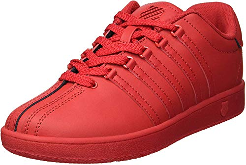 K-Swiss Baby Classic VN Sneaker, Ribbon red, 8 M US Toddler