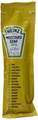 Heinz Senf mittelscharf Portionsbeutel, 1er Pack,1.7 kg (100 x 17g)