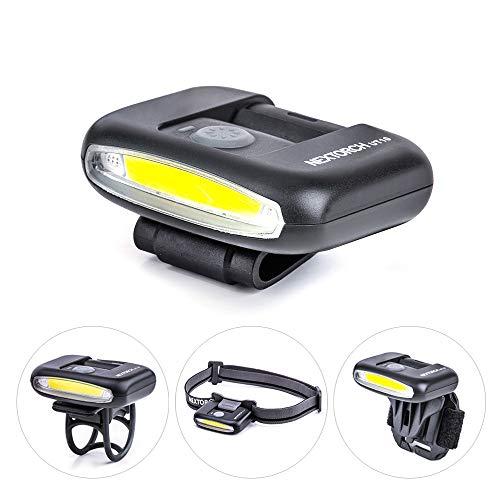 NEXTORCH UT10 - LED- Cliplampe mit weisser und roter LED