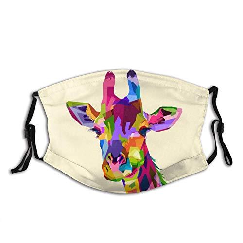 Hermoso y lindo camello con ojos encantadores cara M-A-S-K Unisex pasamontañas cubierta de boca con 2 filtros para hombres y mujeres