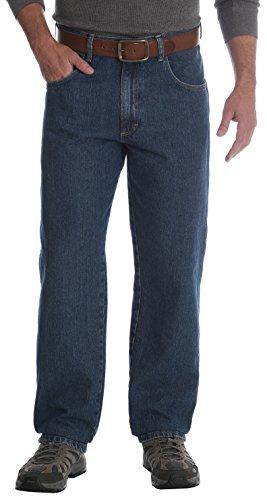 Wrangler Men's Rugged Wear Jean, Medium Wash, 34W x 34L