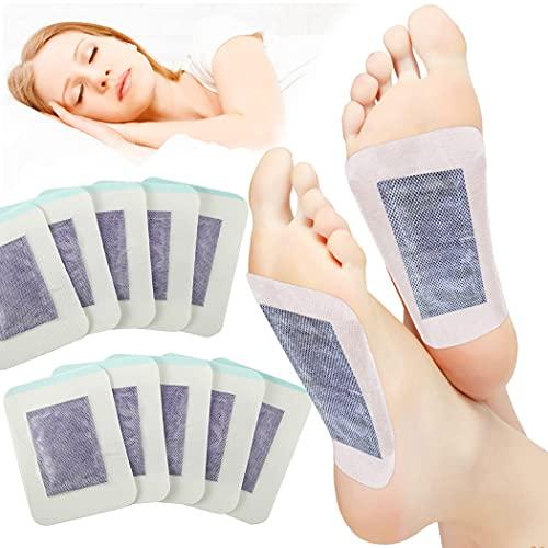 Parches Detox para Pies   Funpa 30pcs Detox Foot Pads Parches Desintoxicantes   Eliminan Toxinas Cuerpo Aceleran Metabolismo