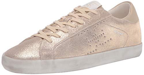 Sam Edelman Women's Aubrie Sneaker Molten Gold 8 Medium