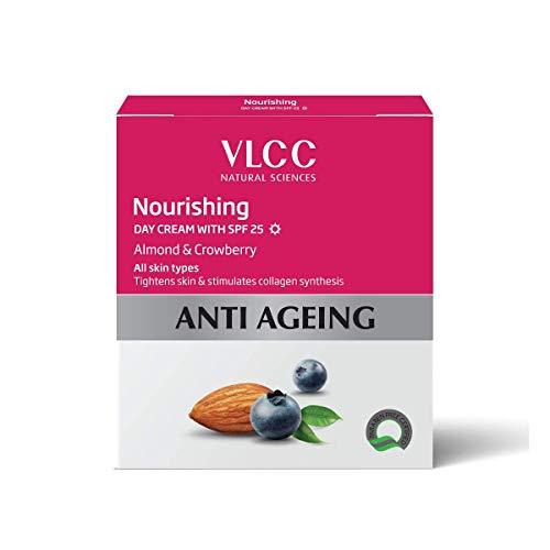 VLCC Crème Nutritive Jour FPS 25 Enrichi en amande et Crowberry Tous types de peau