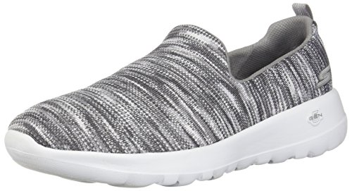 Skechers Performance Women's Go Walk Joy Terrific Sneaker, Grey 7 M US
