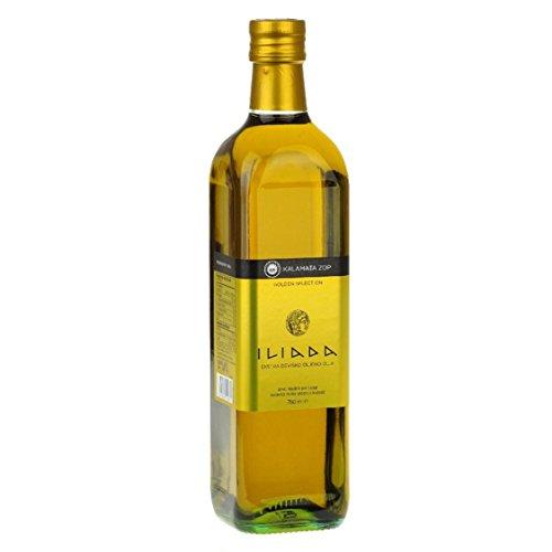 ILIADA Kalmata Griechisches Olivenöl Extra Nativ, Griechenland, 0,75 l; PRÄMIERT!