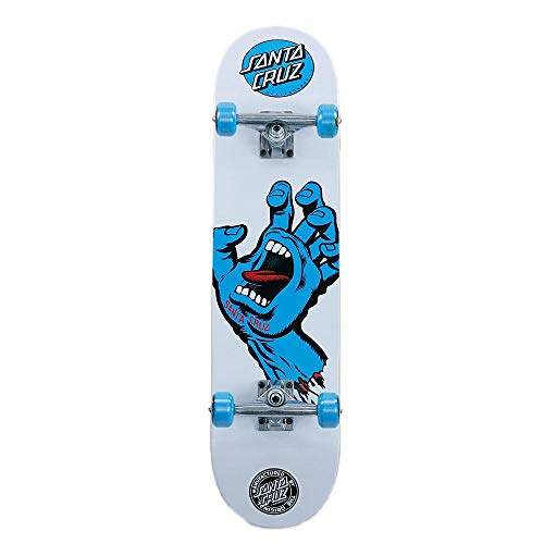 Santa Cruz Screaming Hand 7,75 'Wide fabbrica Skateboard completo assemblato di configurazione