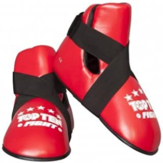 Top Ten Red Semi Contact Point Sparring Boots