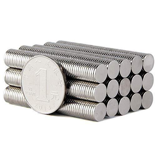 120PCS 8×1MM Small Cylinder Fridge Magnets, Office Magnets, Whiteboard Magnets, Durable Mini Magnets