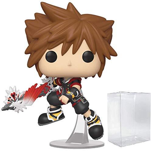 Disney: Kingdom Hearts 3 - Sora with Ultimate Weapon Funko Pop! Vinyl Figure (Includes Compatible Pop Box Protector Case)