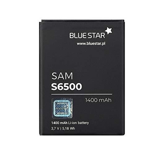 Blue Star Premium - Bateria de Li-Ion litio 1400mAh de Capacidad Carga Rapida 2.0 Compatible con el Galaxy Mini 2 S6500/ Young/ Ace Plus