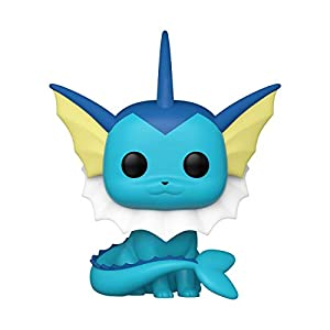 Funko Pop! Games: Pokemon - Vaporeon Vinyl Figure - 41CFYH B9SL - Funko Pop! Games: Pokemon – Vaporeon Vinyl Figure