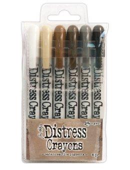 Tim Holtz - Distress Crayons by Ranger - Set #3