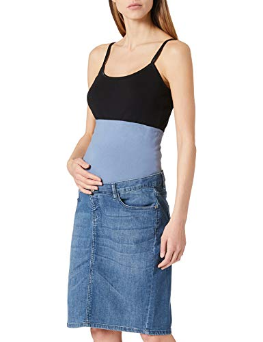 Noppies Jeans Skirt OTB Erie Falda, Aged Blue-P304, S para Mujer