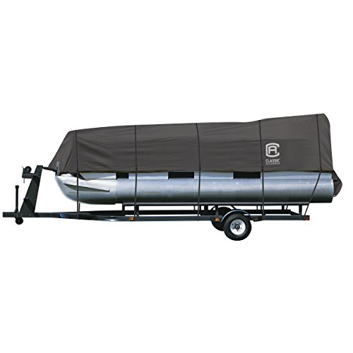 Cheap Classic Accessories StormPro Trailerable Pontoon Boat Cover