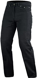 Bikers Gear Australia Men's Motorcycle Protective Kevlar Jeans Vintage Black