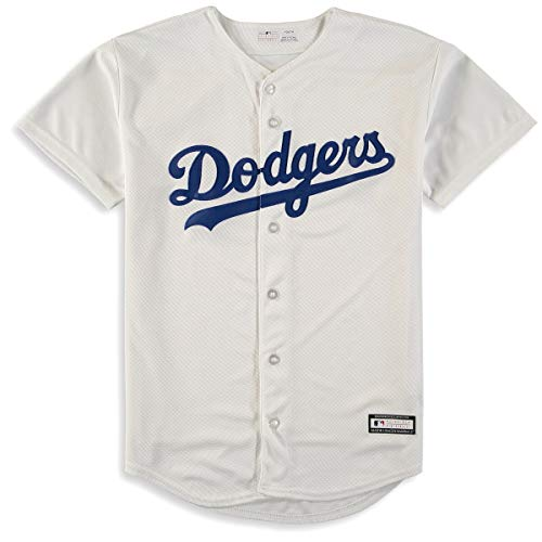 Outerstuff Los Angeles Dodgers Youth Team Home White Jersey (Youth X-Large 18/20)