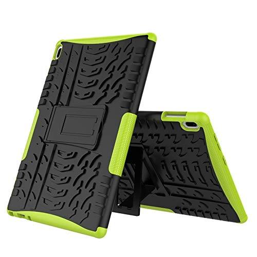 QiuKui Tab Funda para Lenovo TAB4 10, Armor a Prueba de Golpes a Prueba de Golpes PC + Funda TPU Funda de Tableta para Lenovo Tab 4 10 TB-X304F / X304N 10.1 Pulgadas