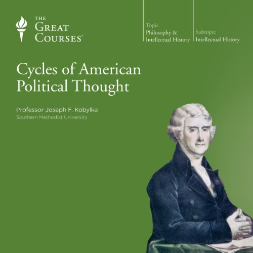 Cycles of American Political Thought audiobook cover art