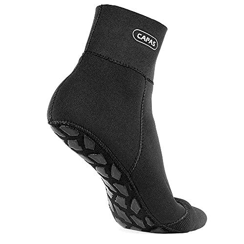 CAPAS 2mm Neoprene Waterproof Socks, Beach Volleyball Sand Proof Socks, Wetsuit Snorkel Socks Keep Warm for Men Women