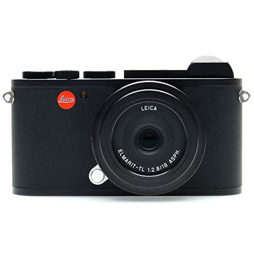 Leica CL Mirrorless Black Camera Prime Kit with TL...