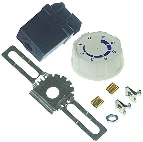 Danfoss 077B7005 thermostaat, max. Temperatuur -7,5 °C -32,5 tot -7,5 °C werkbereik -32,5 tot -7,5 °C capillaire buislengte 2300 mm