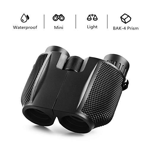 mijiaowatch Binoculars for Adults Kids, 10x25 Compact Folding...