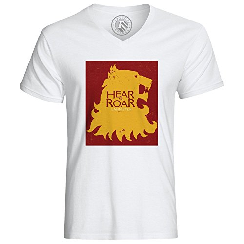 T-Shirt Game of Thrones Lannister Hear Me Roar Lion