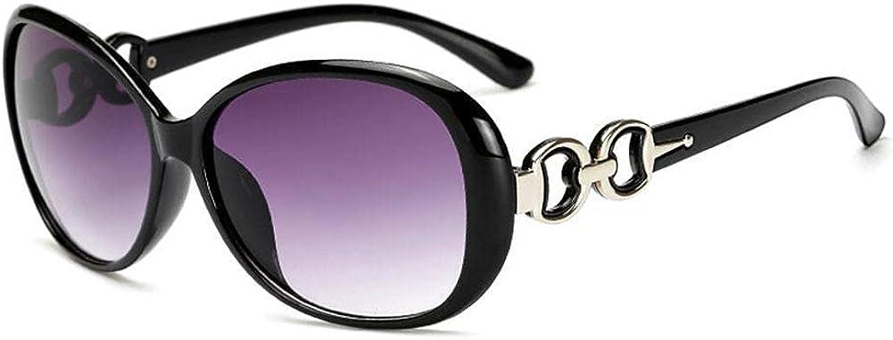 XCSM Gafas de Sol de Gran tamaño para Mujer Protección UV400 Gafas de Sol de Montura Grande Gafas de Sol de Moda Vintage para Mujer Accesorios de Playa al Aire Libre de Verano