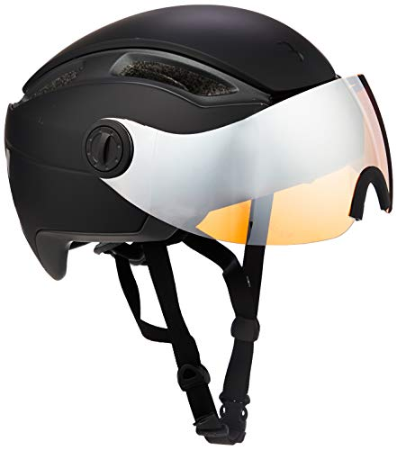 BBB Cycling fietshelm Indra Speed 45 faceshield| Urban + E-bike | Safety supereenvoudig verstelbare integraalhelm | Venturi System | mat zwart
