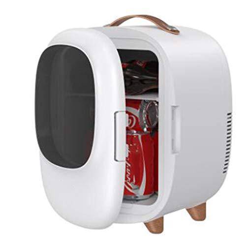 Mini Refrigerador de 8 Litros / Refrigerador Portátil / Calentador de Aire Para Automóvil, Utilizado para Alimentos, Bebidas, Cuidado de La Piel, Incluido el Hogar, La Oficina, el Dormitorio, el Aut