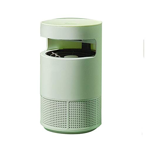 Anti-Mosquito Artifact Household Mosquito Repellent Indoor Mute Anti-Mosquito Suction Type Mosquito Killer USB Interface,165X270MMM (Color : Green)