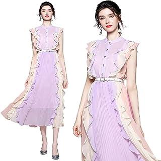women's clothes casual dresses chiffon sleeveless dresses woman-فستان نسائي كاجوال شيفون بدون اكمام