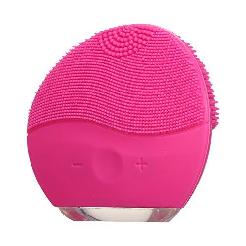 Limpiador Facial eléctrico Limpieza Profunda Recargable de Silicona Belleza Instrumento de Masaje...