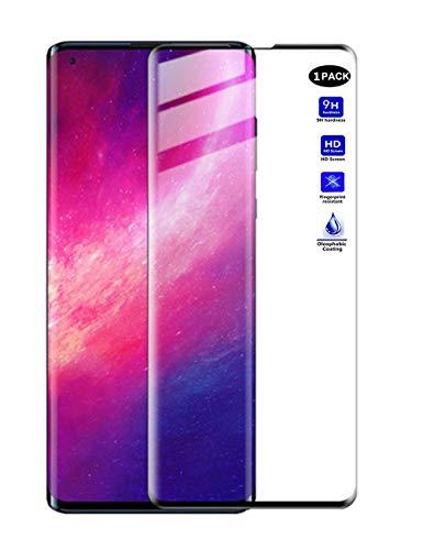 XMTON 3D Pellicola Protettiva Compatibile con Motorola Moto Edge 6.7 ,3D Copertura Completa in Durezza 9H Vetro Temperato Protezione Schermo per Motorola Moto Edge Smartphone (Nero-1)
