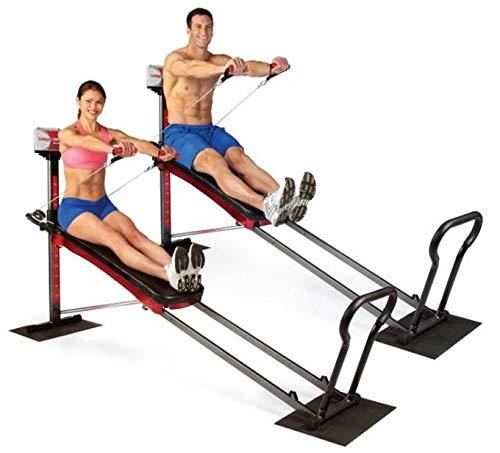 Total Gym 1900 Ultimate Home Fitness Exercise Machine Equipment + DVDs | R1900