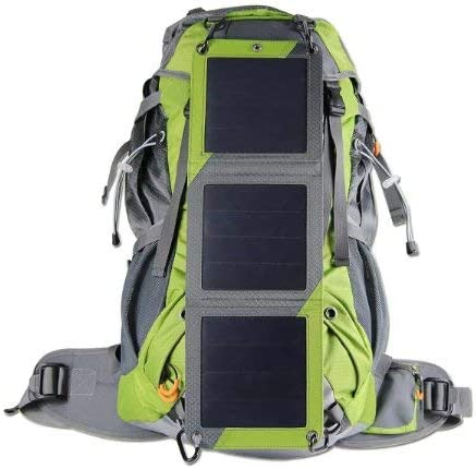 XTPower Xplorer Globetrotter 42 Ultra Durable Hiking Solar Backpack Lime Green with Removable product image